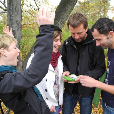 teamevent geocaching