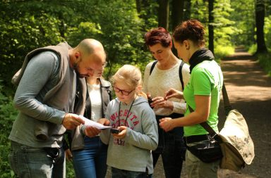 teamevent geocaching auenwald