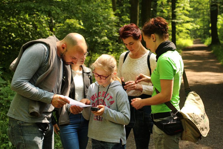 teamevent geocaching auenwald