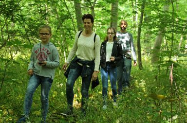 geocaching im auenwald