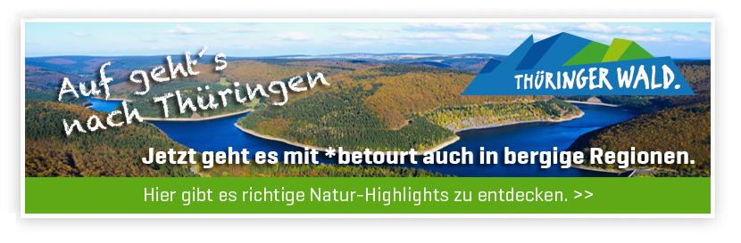 betourt jetzt auch in Thüringen
