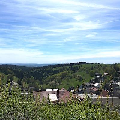 über den Dächern Thüringens