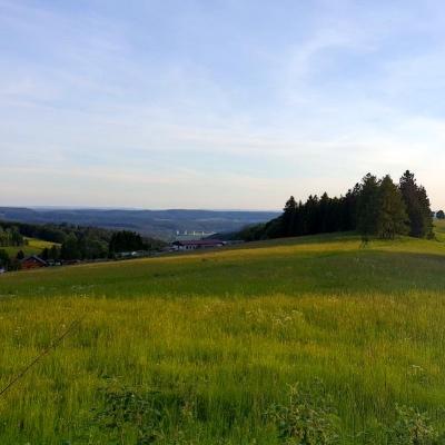 weite Sicht in Thüringen