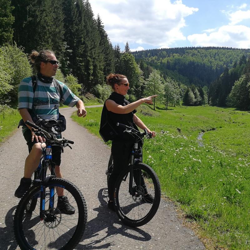 Radtour durch Thüringen