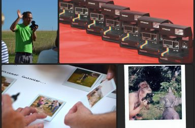 Polaroids bei der Tour